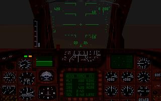 Cockpitvy från Tornado