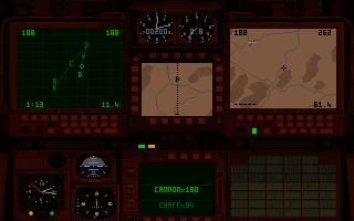 Bakre cockpitvy från Tornado