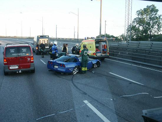 Personbilarna står för majoriteten av olyckorna