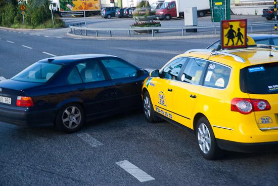 Trafikolycka Årsta