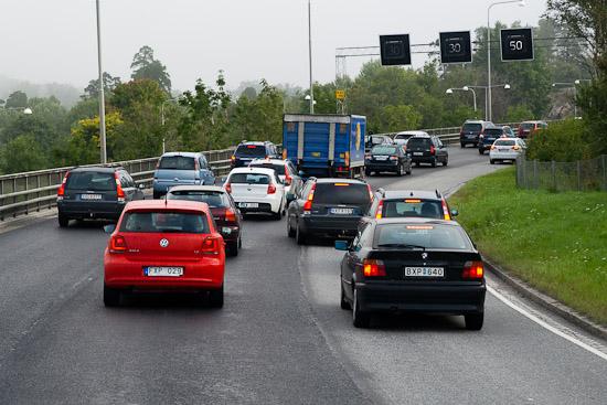 Flerfiliga vägar erbjuder ofta fördelar