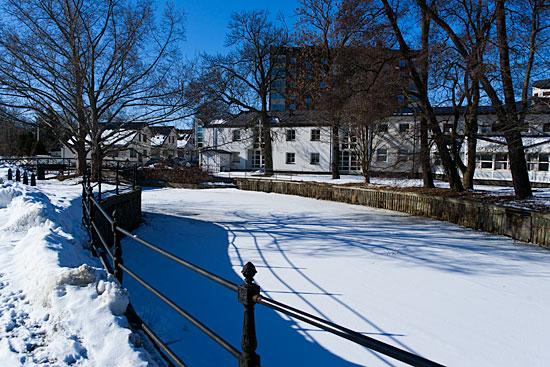 Enköping har fortfarande vinterskrud