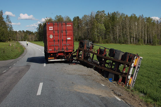 Stressade personbilsförare mer värda än lastbilschaufförer