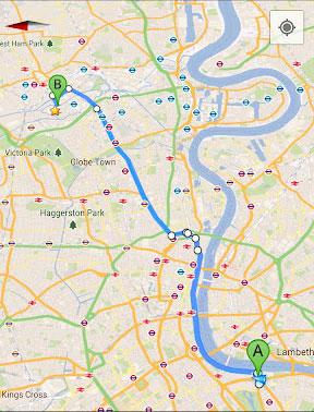 Maps istället för Navigator