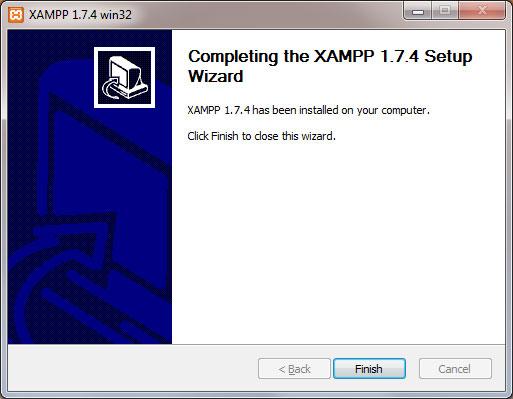 XAMPP installerat på din dator