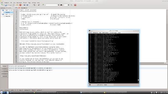 Försöker installera Glib-2.32.1 under Linux Mint 12 KDE