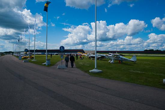 Tierp Air Show på Tierp Arena