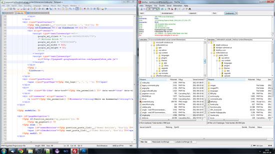 Flera fönster samtidigt på skrivbordet i Windows 7 och tidigare