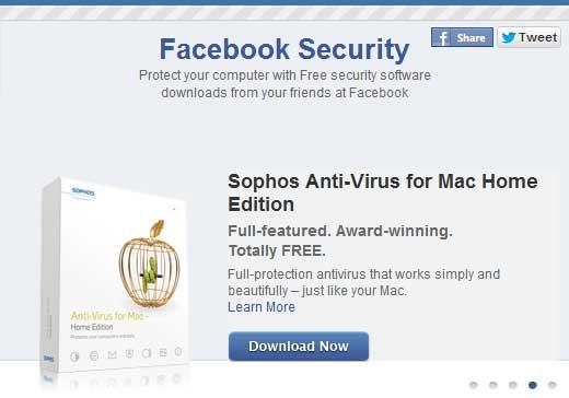 Gratis antivirus från Facebook