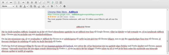 Ingen svensk rättstavning i Firefox 17