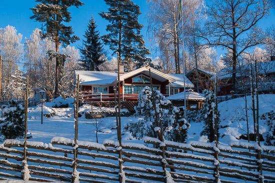 Ett hus i Bredsand
