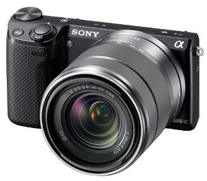 Skicka bilder till Facebook med Sony NEX-5R