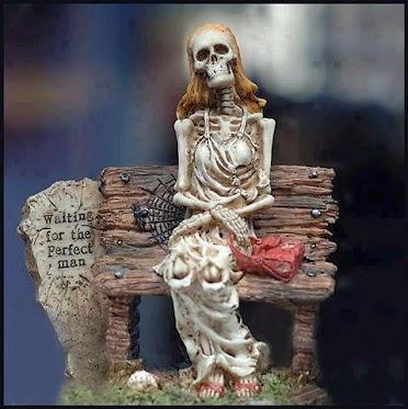 Väntar på den perfekta mannen