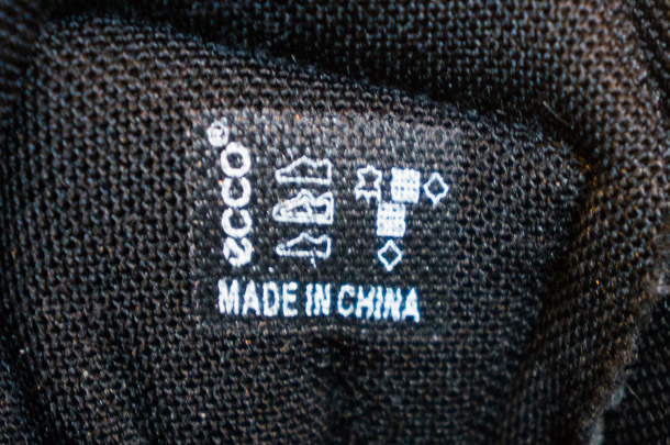 ECCO - Made in China