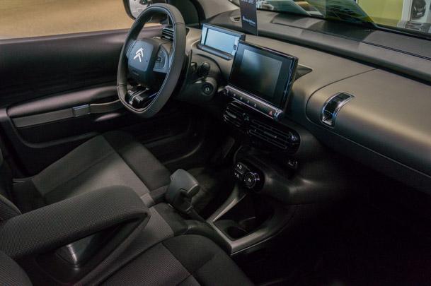 Inredningen i Citroën C4 Cactus kändes gedigen och andades kvalité