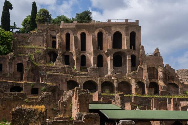 Palatinen - en av Roms sju kullar