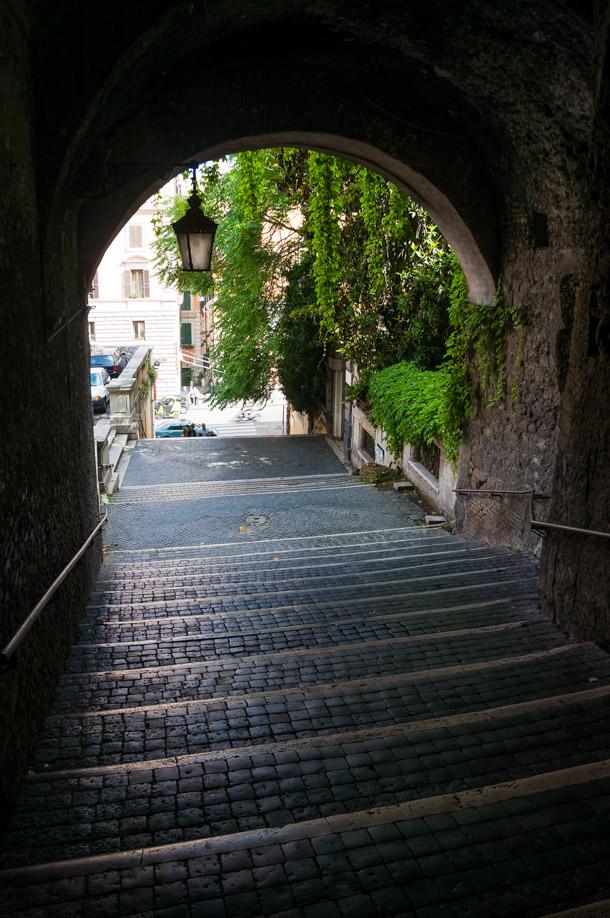 Trappan till Skurkarnas gata (Vicus sceleratus)