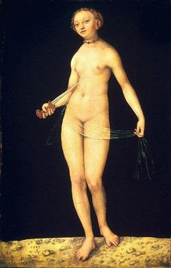 Lucretia var trogen sin make