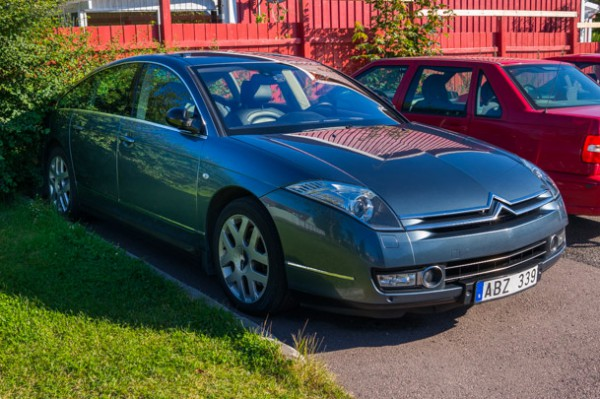 Min pärla - en Citroën C6 2.7 HDi Exclusive - har fått gå i pension