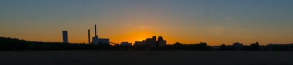Enköping i solnedgången