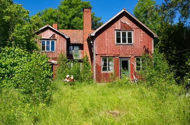 Ödehuset i Valla utanför Enköping