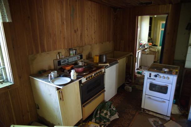 Köket verkar ändå ha använts