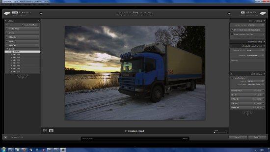 Detaljstudera enskild bild vid Import i Lightroom 3