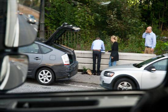 Olycka på Essingen