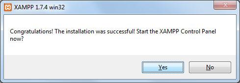Konfigurera XAMPP