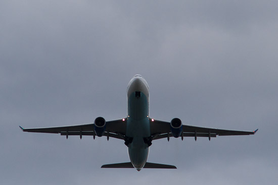 Fotografera flygplan på Arlanda