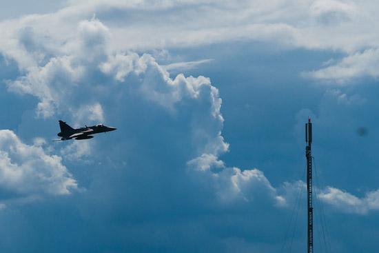 Finalen stod JAS-39 Gripen för