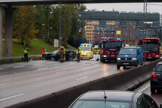Trafikolycka med personskador