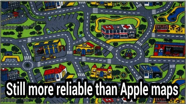 Bättre än Apple Maps