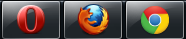 Chrome 24 vs Firefox 18 vs Opera 12