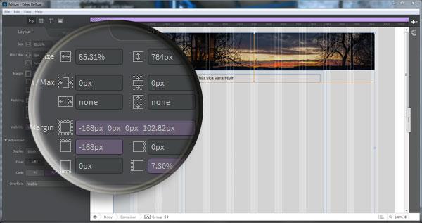 Skapa responsiva layouter med Adobe's Edge Reflow
