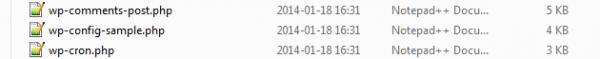 Döp om filen wp-config-sample.php