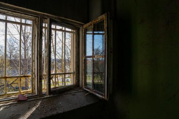 Gallerförsedda fönster