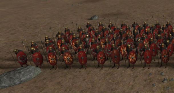En centuria bestod av 60 man