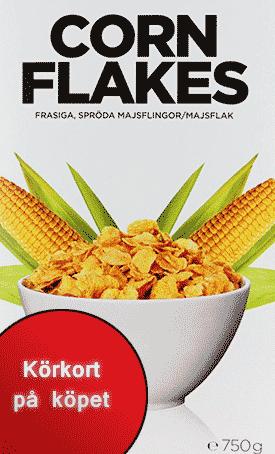 Körkort i Cornflakespaketet