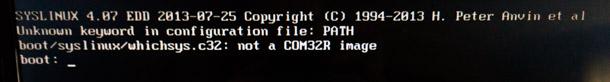 Problem att installera Linux Arch med Universal USB Installer