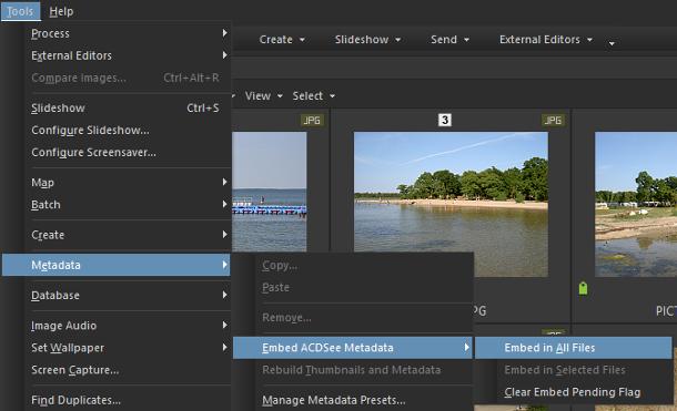 Säkerhetskopiera både bilder och data samtidigt med ACDSee Pro 8