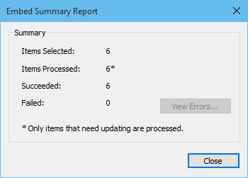 ACDSee Pro 8 har slutfört uppgiften